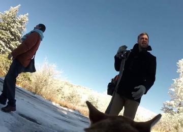 Originele Huwelijksvideo: Hond Met GoPro Op Zijn Kop